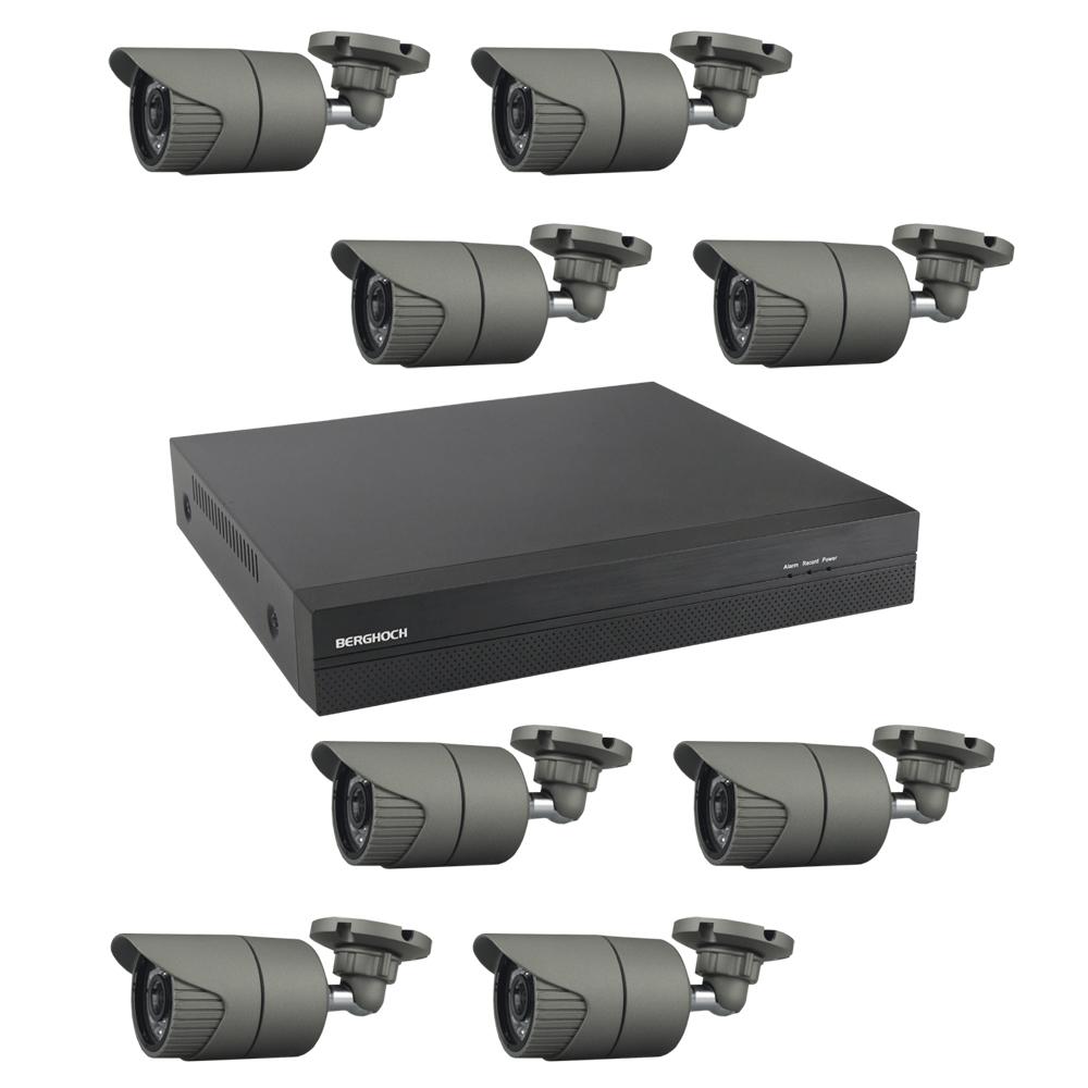 video berwachung set hd 3mp poe 8x aussen. Black Bedroom Furniture Sets. Home Design Ideas